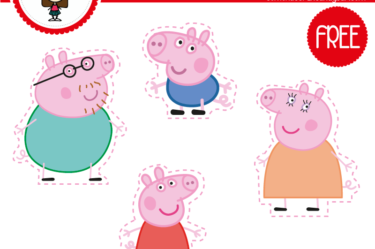 Wrappers de peppa pig para imprimir gratis