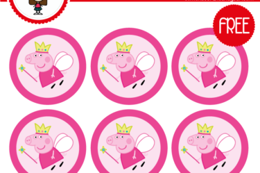 Stickers de peppa pig para imprimir