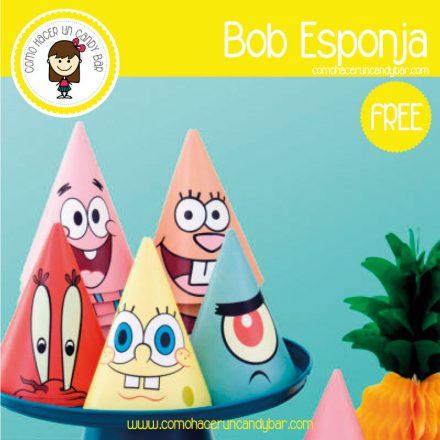 Gorrito de bob esponja para descargar gratis