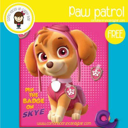 poster paw patrol para descragar gratis