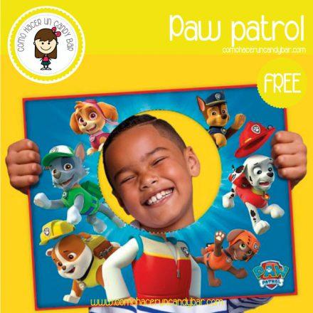 poster paw patrol para descargar