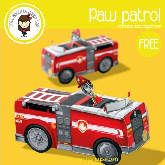 auto paw patrol para descargar gratis