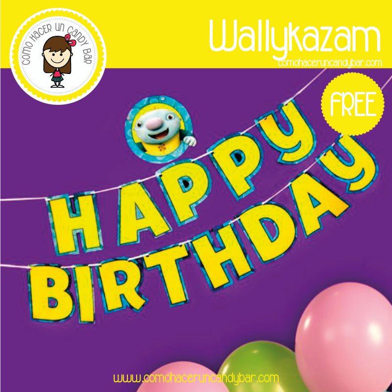 Banderines de wallykazam para descargar