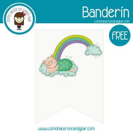 imprimible baby shower oso gratis