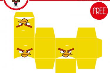 imprimible caja angry birds 1 para descargar gratis