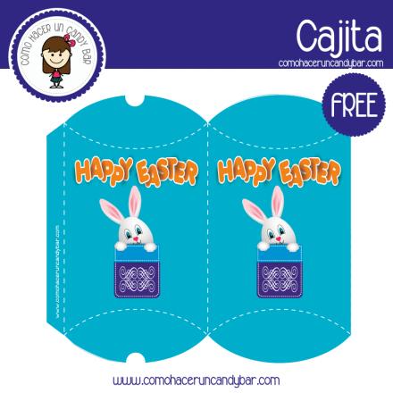 imprimible caja de pascua 2 para descargar gratis