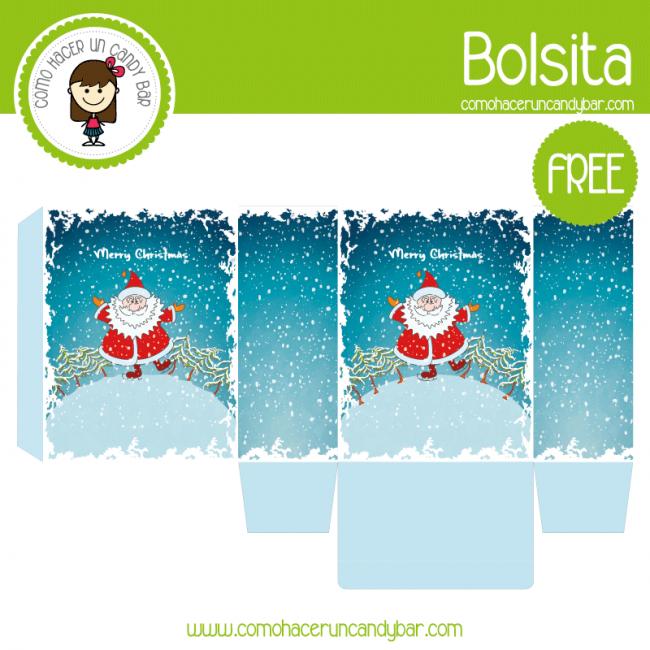 bolsa navideña para descargar gratis