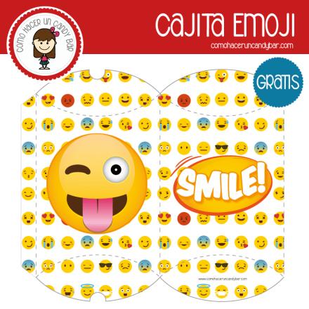 imprimible caja emoji para descargar gratis