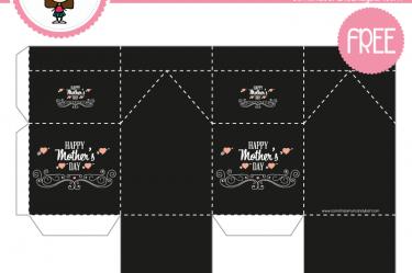 imprimible caja dia de las madres gratis