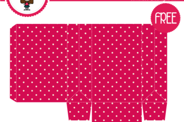 Bolsita de lunares rosa para descargar