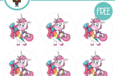 stickers de unicornio 5 para descargar gratis
