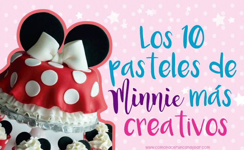 los 10 pasteles mas creativos de minnie