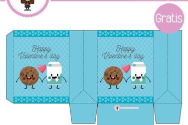 Bolsita de san valentin cute para descargar gratis