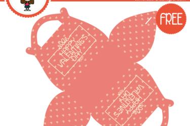Cajita del día de la madre rosa 3 para descargar gratis