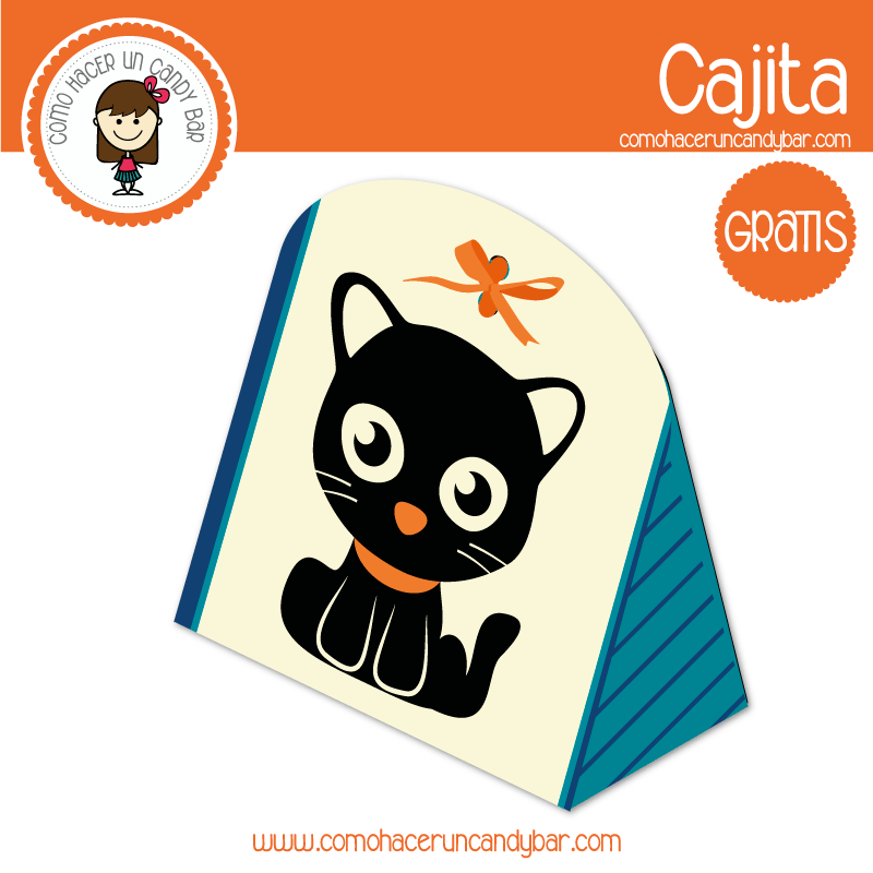 Cajita de gato para descargar gratis