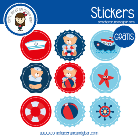Stickers para descargar gratis de baby shower