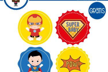 Stickers para descargar gratis de heroes baby