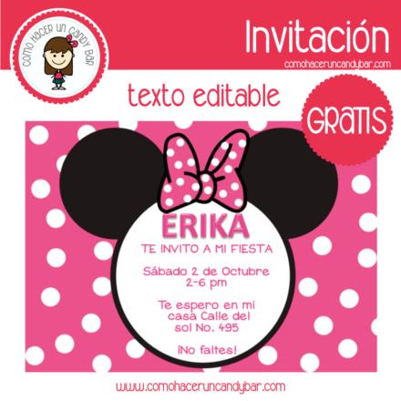 Invitación de minnie 2 para descargar gratis