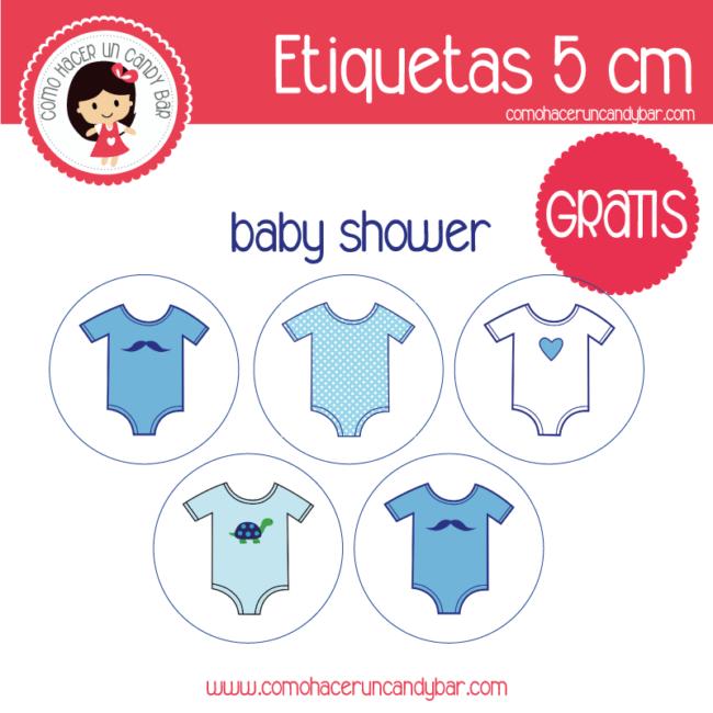 Etiquetas para imprimir de baby shower niño - Imprimibles GRATIS ...