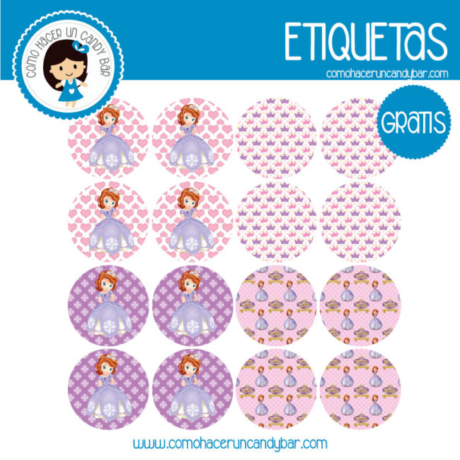 Princesa Sofia Archivos Kits Imprimibles Para Fiestas Gratis