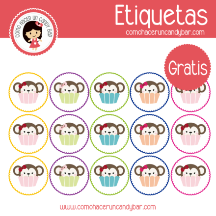 Changuitos etiqueta para descargar gratis