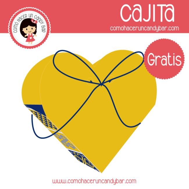 Cajita Multiusos Corazón Para Imprimir Gratis Imprimibles Gratis