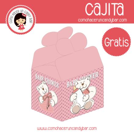 Baby shower Caja para descargar gratis