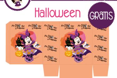 Bolsita para imprimir gratis de halloween