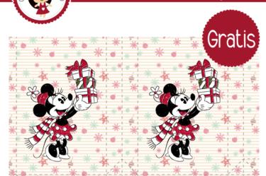Bolsita para imprimir gratis de Minnie