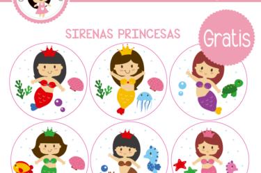 Etiquetas gratis de Sirenas