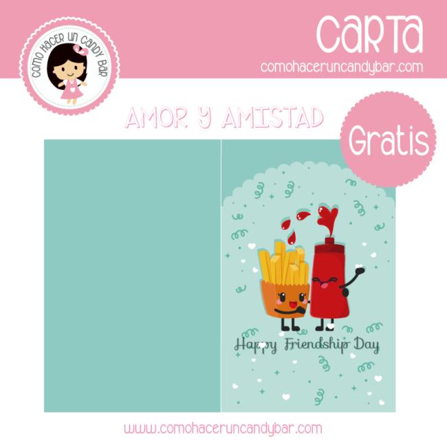 Amor Y Amistad Archivos Kits Imprimibles Para Fiestas Gratis