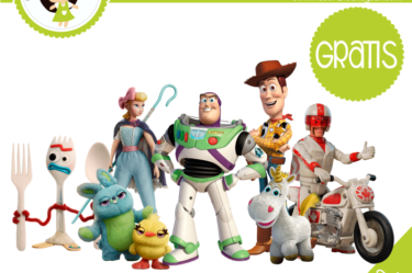 imprimibles toys story para descargar gratis