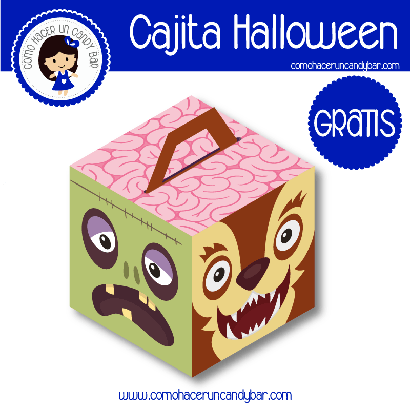 caja Halloween gratis