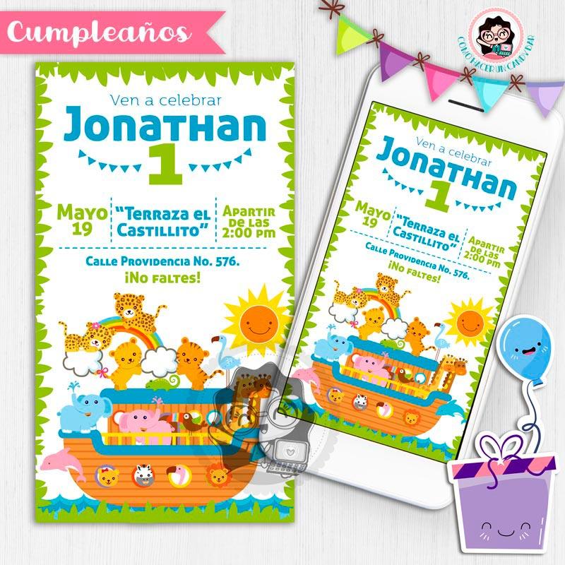 Invitación digital whatsapp animalitos de la selva kits imprimibles para fiestas