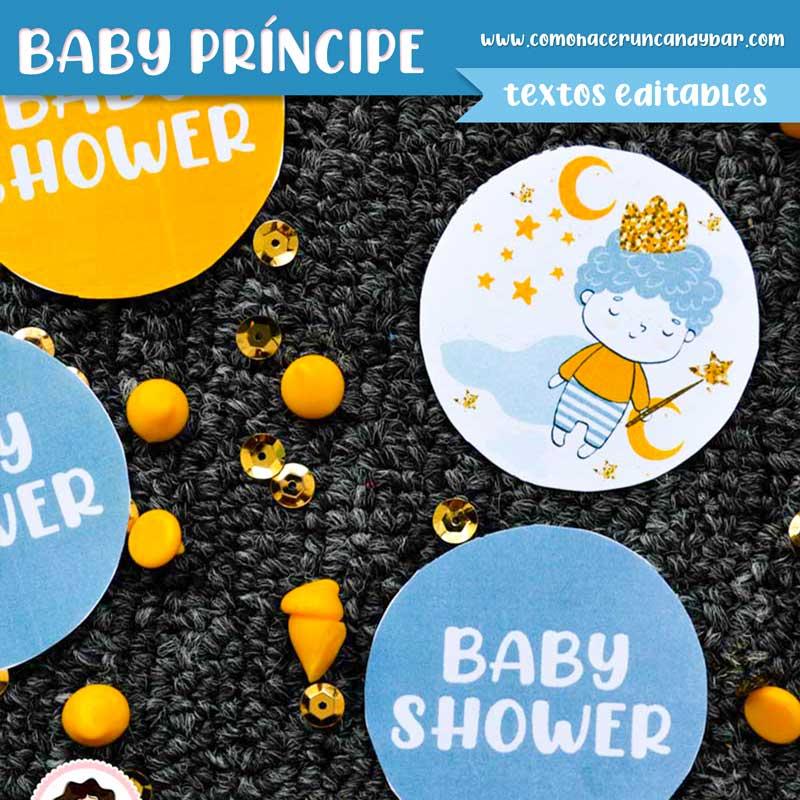 Etiqueta Kit imprimible Baby Shower