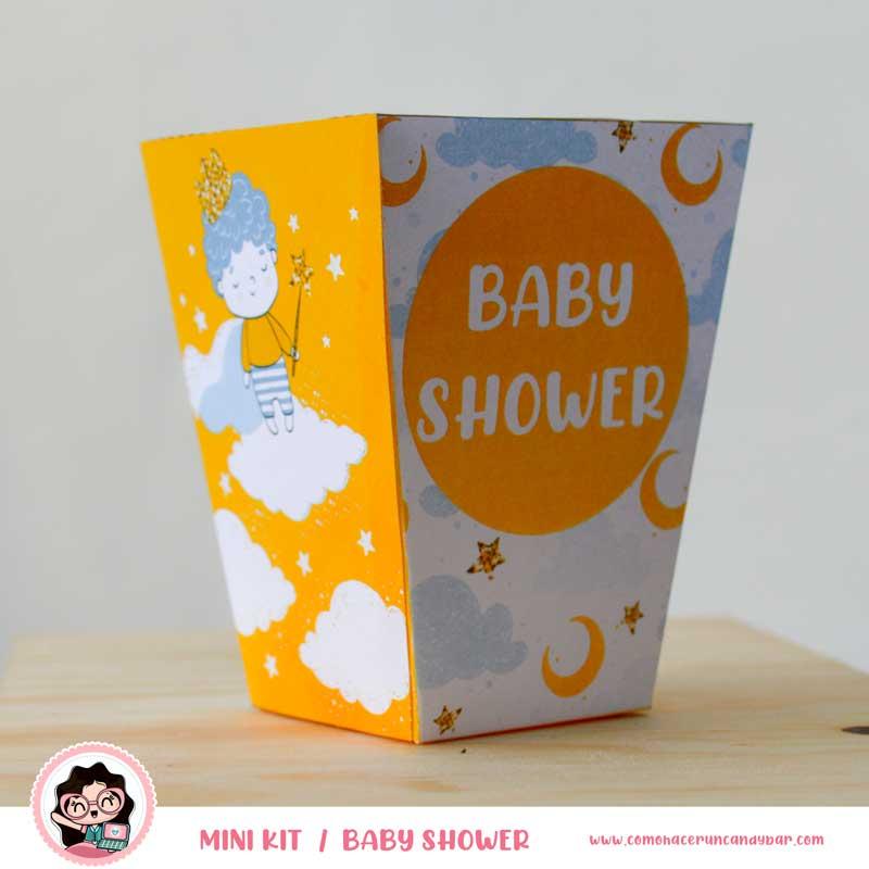 Caja Kit imprimible Baby Shower
