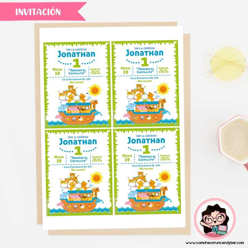 Invitaciones imprimibles de cumpleaños