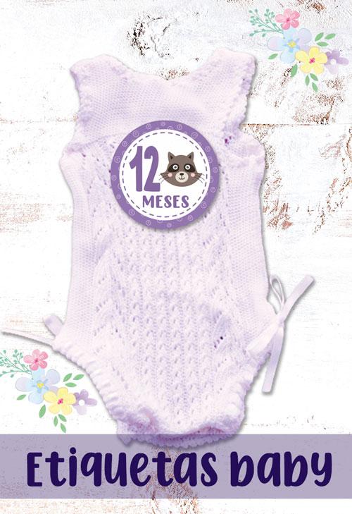 etiquetas decorativas para bebes