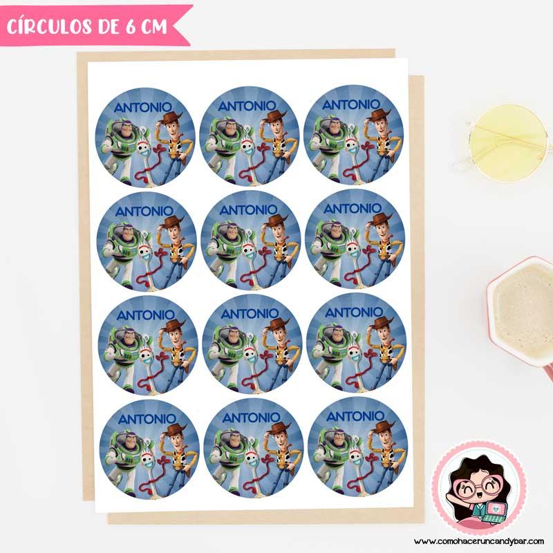 sticker digital para imprimir toy story